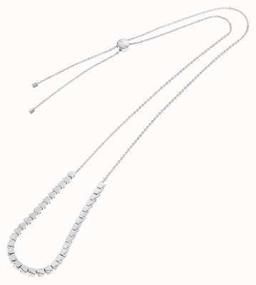 Calvin Klein Tune | Stainless Steel Cube Necklace | Crystal Set KJ9MMN040500