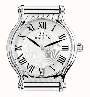 Michel Herbelin Antarès | Stainless Steel Watch Face Only | Roman Numerals H.17447/08