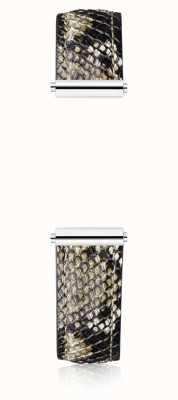 Michel Herbelin Antarès | Snake Print Calf Skin Leather Interchangeable Strap Only BRAC.17048.53/A