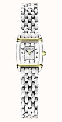 Michel Herbelin Art Déco | Women's Stainless Steel Bracelet | White Dial 17438/T22B