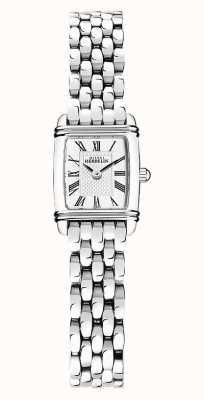 Michel Herbelin Art Déco  | Women's Stainless Steel Bracelet | White Dial 17438/08B