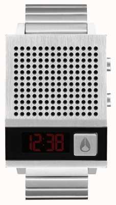 Nixon Dork Too | Black | Digital | Stainless Steel Bracelet | Talking A1266-000-00