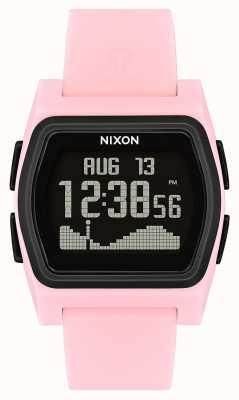 Nixon Rival   Pink / Black   Digital   Pink Silicone Strap A1236-2531-00