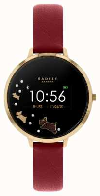 Radley Series 03 Activity Tracker | Red Leather Strap RYS03-2006