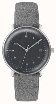 Junghans Max Bill Damen Quartz | Plexiglass | Grey Fabric Strap 047/4542.04