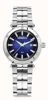 Michel Herbelin Women's Newport   Stainless Steel Bracelet   Blue Dial 14288/B15
