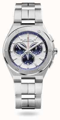 Michel Herbelin Cap Camarat   Chronograph   Stainless Steel Bracelet   37645/B42