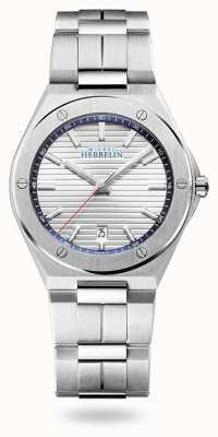 Michel Herbelin Cap Camarat   Silver Dial   Stainless Steel Bracelet 12245/B42