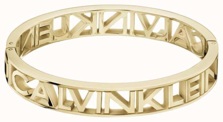 Calvin Klein MANIA   Gold PVD Steel   Bangle KJCSJD10010M