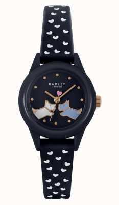 Radley Watch It! | Women's Navy Silicone Strap | Navy Dial RY21262