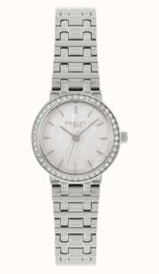 Radley Women's Silver Steel Bracelet | Silver Mother Of Pearl Dial RY4563