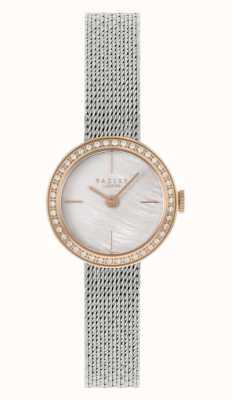 Radley | Women's | Silver Steel Mesh Bracelet | Mother Of Pearl Dial | RY4567