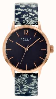 Radley Women's Black Leather Strap | Black Dial RY21250A