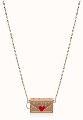 Radley Jewellery Love Letters | Women's Gold Plated Purse Shape Necklace RYJ2146S-CARD