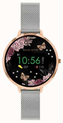 Reflex Active Series 3 Smart Watch   Stainless Steel Mesh  Strap RA03-4037