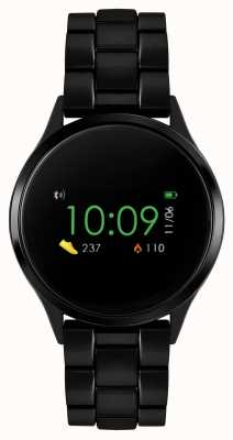 Reflex Active Series 4 Smart Watch | Colour Touch Screen | Black IP Steel Bracelet RA04-3000
