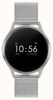 Reflex Active Series 4 Smart Watch | Colour Touch Screen | Stainless Steel Mesh Bracelet RA04-3001