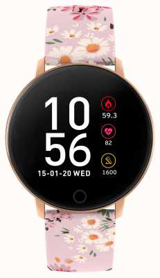 Reflex Active Series 5 Smart Watch | HR Monitor | Colour Touch Screen | Pink Strap RA05-2062