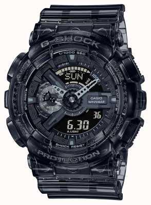 Casio G-Shock | Skeleton Grey Series | Light Grey Transparent Resin Strap | Grey Dial GA-110SKE-8AER