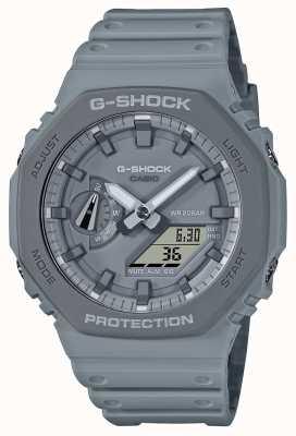 Casio CasiOak | Grey Resin Strap | Grey Dial GA-2110ET-8AER