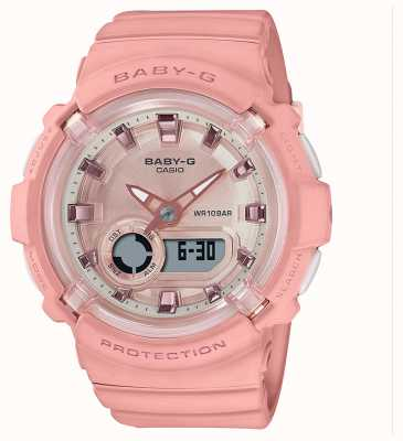 Casio Baby-G | Coral Pink Silicone Strap | BGA-280-4AER