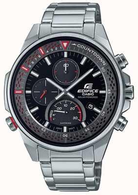 Casio Edifice   Slim Sapphire Chronograph   Stainless Steel Bracelet EFS-S590D-1AVUEF