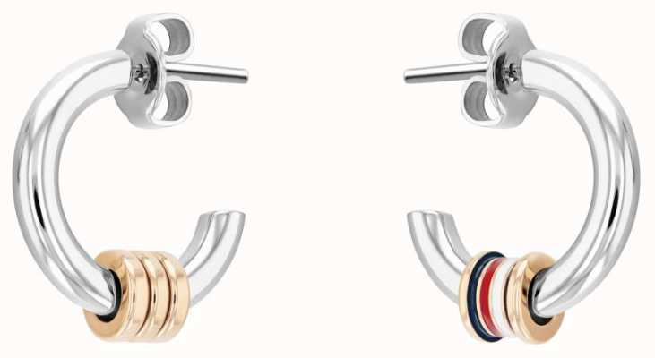 Tommy Hilfiger Women's Stainless Steel Small Hoop Earrings 2780505