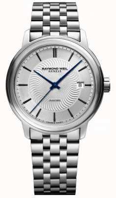 Raymond Weil Maestro | Men's Stainless Steel Bracelet | Silver Dial 2237-ST-65001