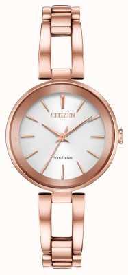 Citizen Women's Eco-Dive Axiom Rose Gold Bracelet EM0633-53A