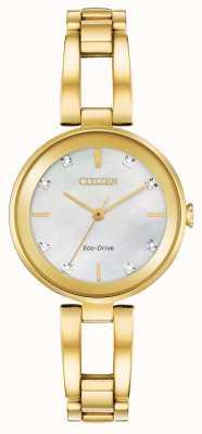Citizen Women's Eco-Drive Diamond Dial EM0802-58D