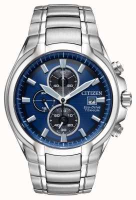Citizen Men's Eco-Drive Titanium Bracelet CA0700-51L