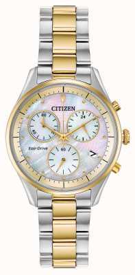 Citizen Women's Eco-Drive Chronograph Bracelet FB1444-56D