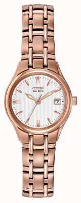 Citizen Women's Eco-Drive Rose Gold Bracelet EW1263-52A