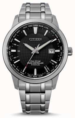 Citizen Men's Eco-Drive Radio Controlled World Perpetual A.T CB0190-84E