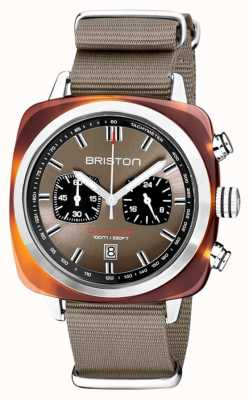 Briston | Clubmaster Sport | Acetate | Taupe | 20142.SA.TS.30.NT