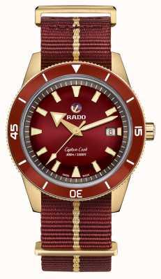 RADO Captain Cook Automatic Bronze Burgundy R32504407