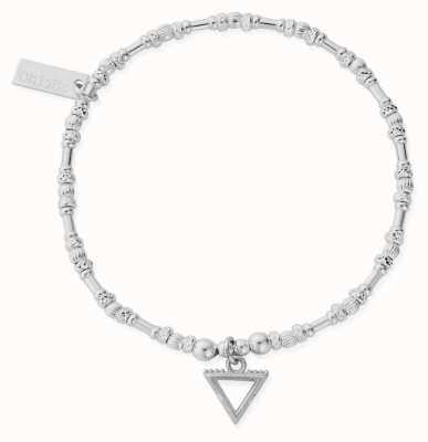 ChloBo Noodle Bead Water Bracelet | Sterling Silver SBNB3106