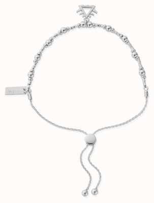 ChloBo Fire Adjuster Bracelet | Sterling Silver SBA3102