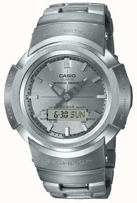 Casio G-Shock | Full Metal Bracelet | Radio Controlled AWM-500D-1A8ER