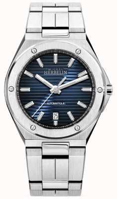 Michel Herbelin Cap Camarat   Automatic   Blue Dial   Stainless Steel 1645/B15