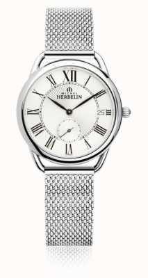 Michel Herbelin Equinoxe | Silver Dial | Stainless Steel Mesh Bracelet 18397/08B