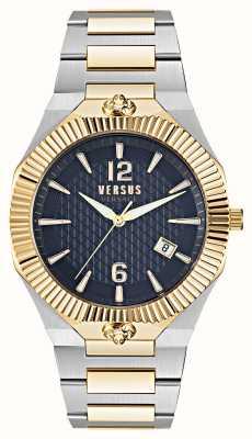 Versus Versace Echo Park Dual Tone Blue Dial Watch VSP1P0521