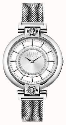 Versus Versace Women's Silver Lake Mesh Stainless Steel Bracelet VSP1H0521