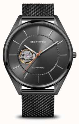 Bering Automatic   Men's   Polished/Brushed Grey   Grey Dial 16743-377
