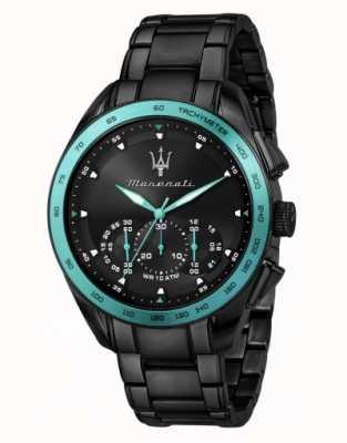 Maserati Traguardo Aqua Edition Black Plated Watch R8873644002