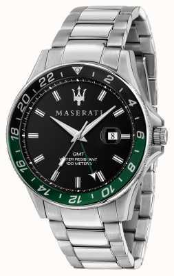 Maserati SFIDA Gents Dual Colour Black/Green Bezel R8853140005