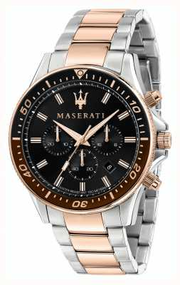 Maserati SFIDA Gents Dual Tone Bracelet R8873640009