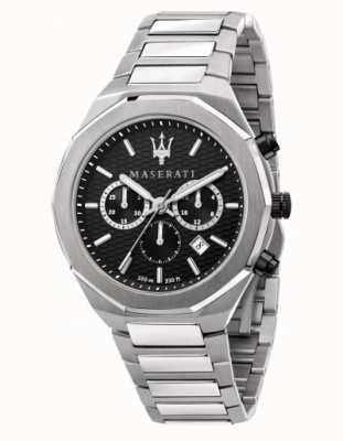 Maserati Stile Men's Chronograph Stainless Steel Watch R8873642004