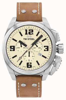 TW Steel Canteen Chronograph Cream Dial TW1010