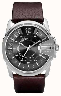 Diesel Mens Brown Leather Strap DZ1206